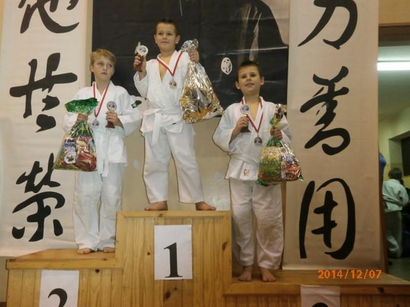 2014-12-08 <br> Dobry występ judoków zKowali na turnieju ...