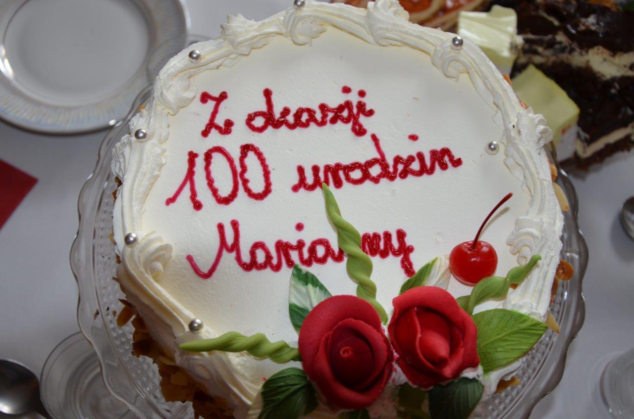 2014-08-14 <br> 100 lat Pani Marianny Rywackiej